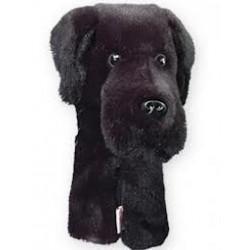 Couvre bois Daphne Labrador noir